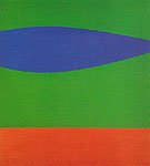 Blue Green Red c1962 - Ellsworth Kelly