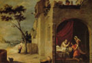 Isaac Blessing Jacob c1665 - Bartolome Esteban Murillo reproduction oil painting