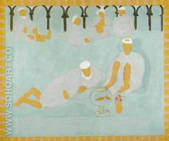 Arab Coffeehouse 1913 - Henri Matisse reproduction oil painting