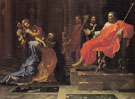 Esther Before Ahasuerus 1640 - Nicolas Poussin reproduction oil painting