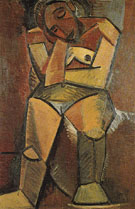 Seated Woman 1908 - Pablo Picasso