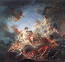 Vulcan Presenting Venus with Arms for Aeneas 1757 - Francois Boucher