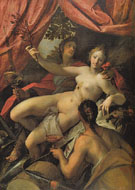 Allegory of Peace Art and Abundance 1602 - Hans von Aachen reproduction oil painting