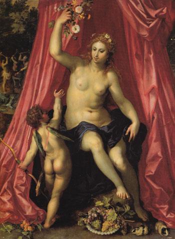 Venus 1600 - Hendrik van Balen The Elder reproduction oil painting