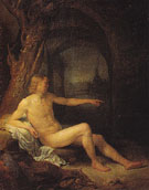 Bather 1 c1660 - Gerrit Dou reproduction oil painting