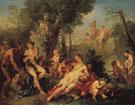 Bacchus and Ariadne - Charles Joseph Natoire