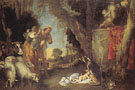 The Birth of King Cyrus - Antonio Maria Vassallo reproduction oil painting