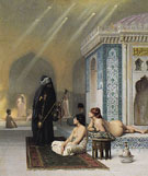 Harem Pool - Jean Leon Gerome reproduction oil painting
