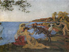Mythological Scene - Ker Xavier Roussel reproduction oil painting