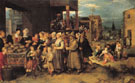 The Seven Acts of Charity - Frans Francken The Younger