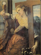 Allegory of Faith 1520 - Moretto da Brescia reproduction oil painting