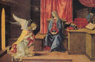 Annunciation - Filippino Lippi reproduction oil painting