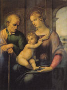Holy Family 1506 - Raphael reproduction oil painting