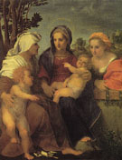 Madonna and Child with St Catherine St Elizabeth and JOhn the Baptist 1519 - Andrea Del Sarto