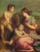 Holy Family with John the Baptist - Andrea Del Sarto