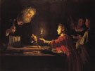 Christ in the Carpenters Shop c1620 - Gerrit van Honthorst