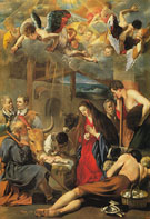 Adoration of the Shepherds - Juan Bautista Del Maino
