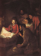 Adoration of the Shepherds - Bartolome Esteban Murillo