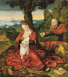 Rest on the Flight into Egypt - Bernard Van Orley reproduction oil painting