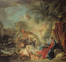 Rest on the Flight into Egypt 1757 - Francois Boucher