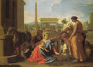 Rest on the Flight into Egypt - Nicolas Poussin