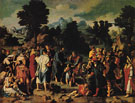 The Healing of the Blind Man of Jericho - Lucas van Leyden reproduction oil painting