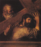 Christ Bearing the Cross 1560 - Titian reproduction oil painting