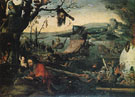 Landscape with the Legend of St Christopher - Jan Mandyn reproduction oil painting