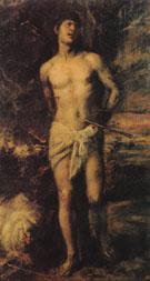 St Sebastian c1570 - Titian