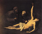 St Sebastian St Irene and St Lucila 1628 - Jusepe de Ribera reproduction oil painting