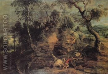 The Stone Carters c1620 - Ruebens reproduction oil painting