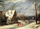Environs of Antwerp - Frans de Momper reproduction oil painting