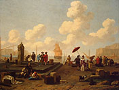 Seacoast 1662 - Abraham Jansz Begeyn reproduction oil painting