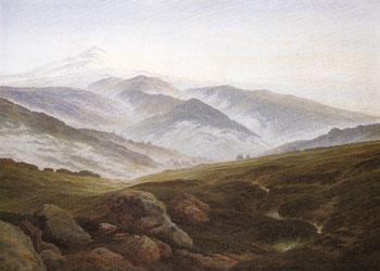 Riesengebirge 1835 - Caspar David Friedrich reproduction oil painting