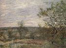 Windy Day in Veno 1882 - Alfred Sisley reproduction oil painting