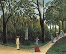 Luxembourg Gardens Chopin Monument 1909 - Henri Rousseau