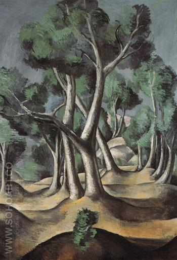 Grove c1912 - Andre Derain reproduction oil painting