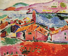View of Collioure 1906 - Henri Matisse reproduction oil painting