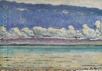 Lake - Ferdinand Hodler reproduction oil painting