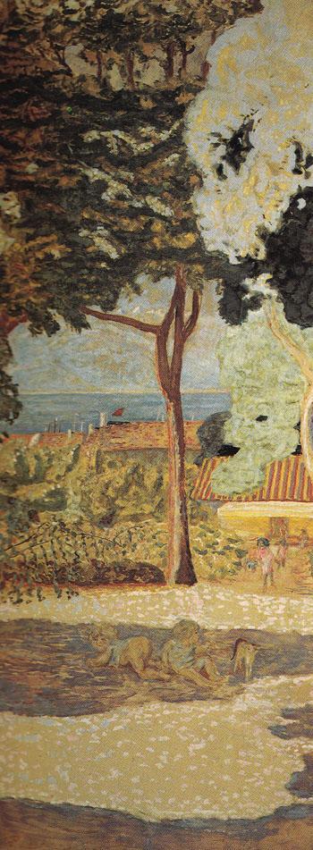 The Mediterranean Sea 1911 II - Pierre Bonnard reproduction oil painting