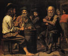 Peasants in a Tavern 1640 - Mathieu le Nain