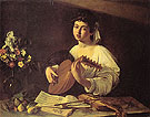 The Lute Player c1595 - Caravaggio