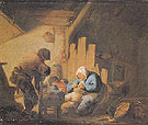 Sight - Adriaen van Ostade reproduction oil painting