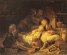 The Farmers Children - Jean-Honore Fragonard reproduction oil painting