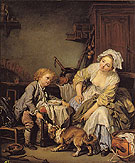 The Spoiled Child 1765 - Jean Baptiste Greuze