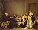 A Visit to the Priest 1786 - Jean Baptiste Greuze