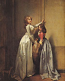 In the Entrance c1796 - Louis Boilly