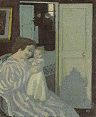 Mother and Child 1890 - Maurice Denis reproduction oil painting