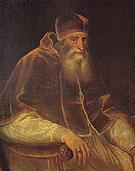 Pope Paul III 1548 - Titian