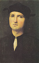 Portrait of a Young Man c1495 - Perugino